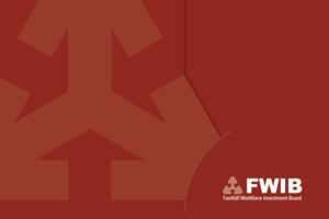 PADV, Pasadena Advertising, FWIB Logo revision, San Gabriel Valley workforce assistance.