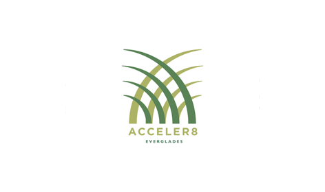 PADV, Pasadena Advertising, Acceler8 Everglades restoration Logo, marketing solutions, marketing services, Community, Financial