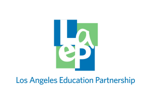 Los Angeles Education Partnership, LAEP, logo