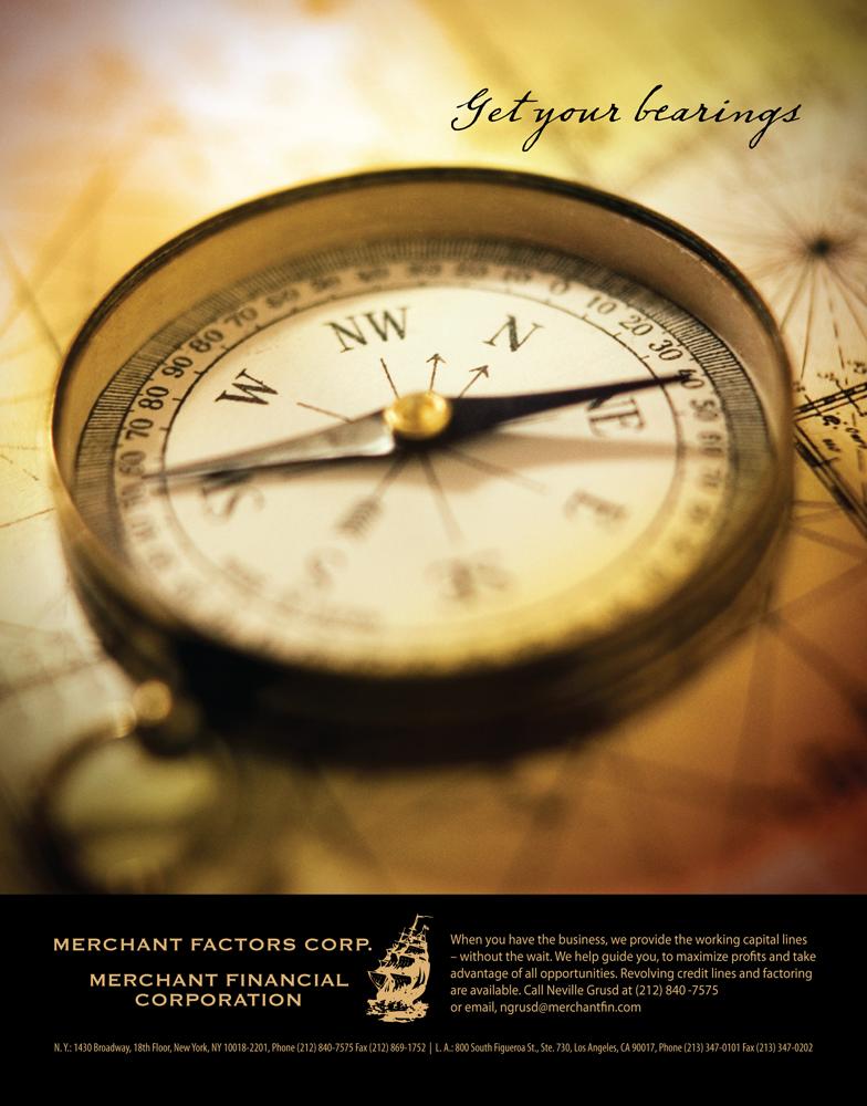 Merchant Factors and Merchant Financial Magazine ad