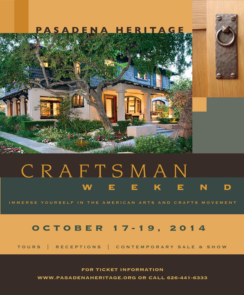 "Pasadena Heritage, ""Craftsman Weekend"" magazine ad"