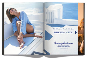 PADV, Pasadena Advertising, Marketing Design, Tommy Bahama campaign, fashion, marketing services, advertising company, online marketing strategy