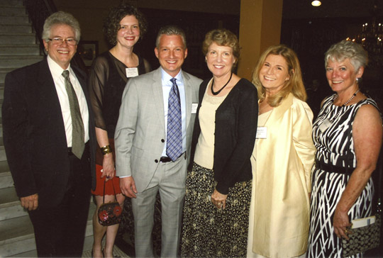 OPMD President, Chairs and Past Chairs at Guardians of Old Pasadena Dinner