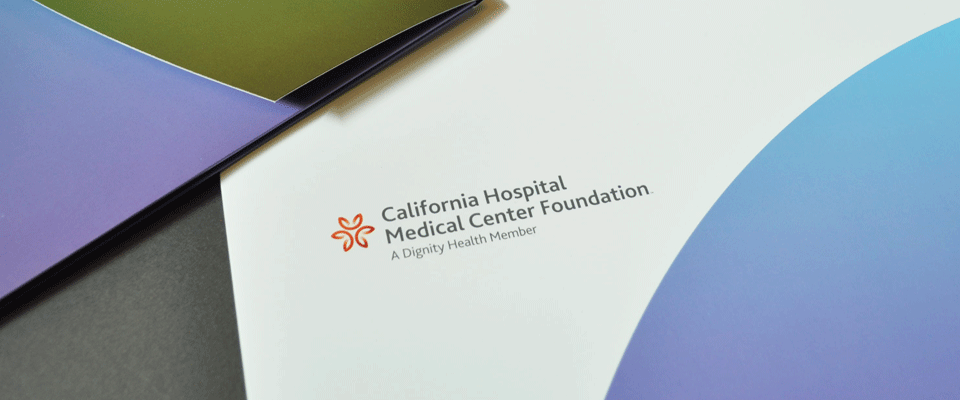 California Hospital Centers Foundation Folder