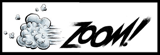 """The """"Zoom"""" with a cloud of dust"""